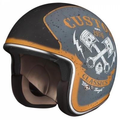Открытый шлем iXS HX 77 Custom X10038 M93